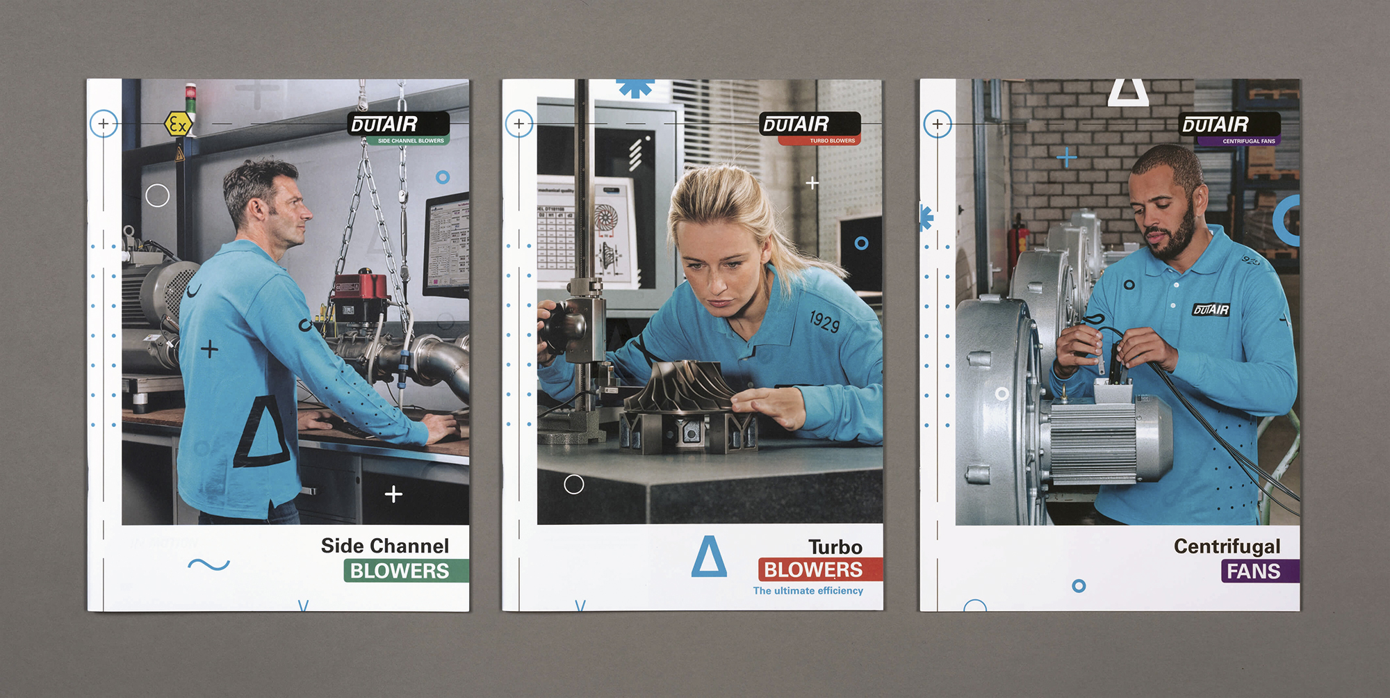 Dutair brochure serie