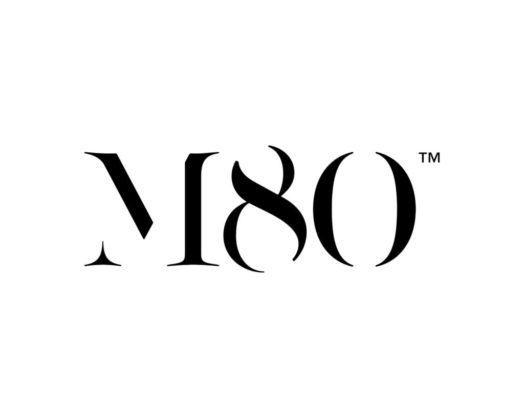 M80 logo ontwerp