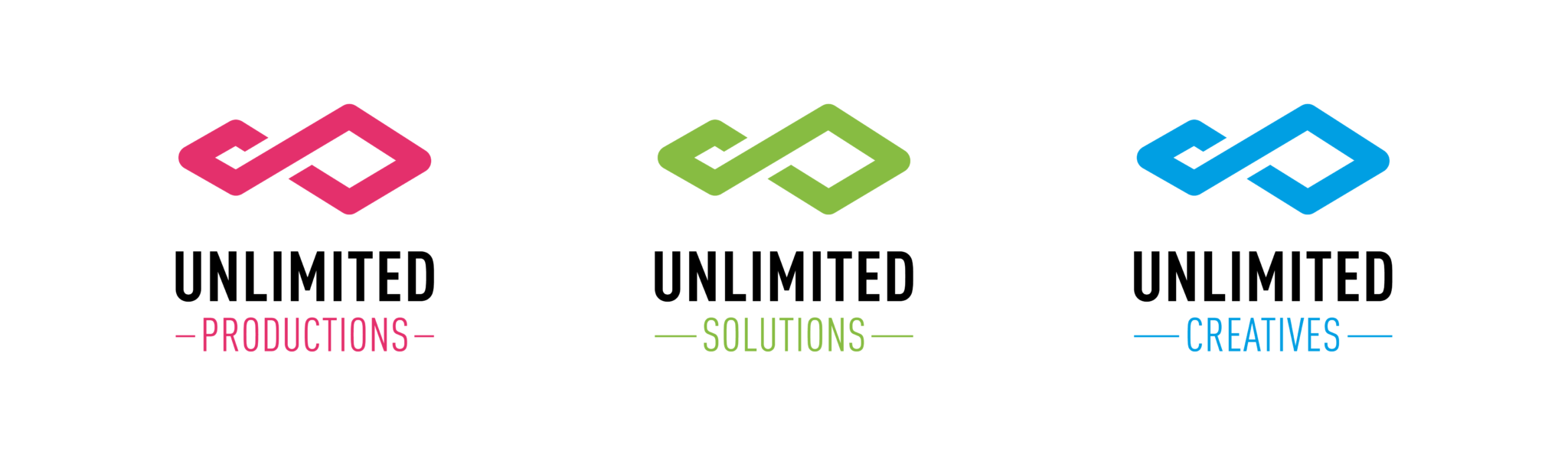 Unlimited Productions Logo familie
