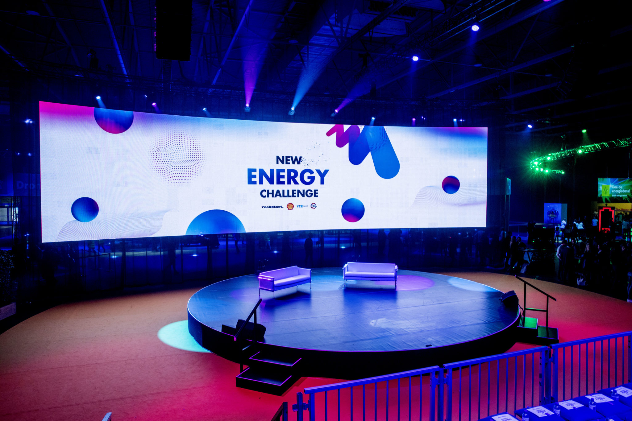 The New Energy Challenge stage design