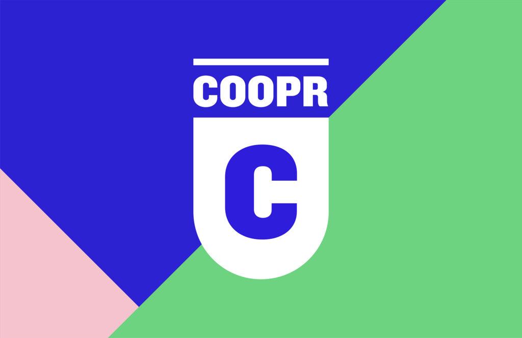 Coopr logo identiteit